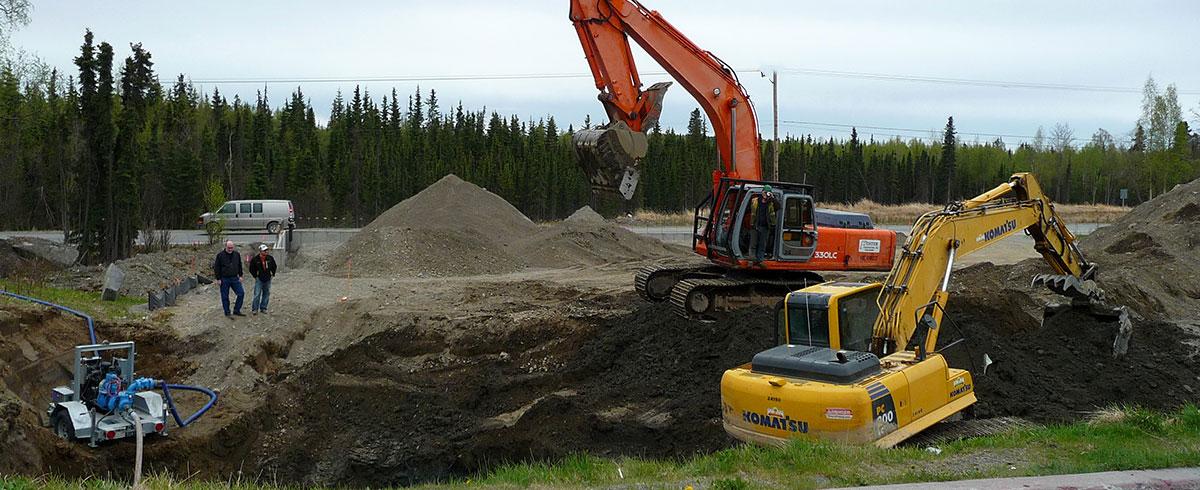 excavating service